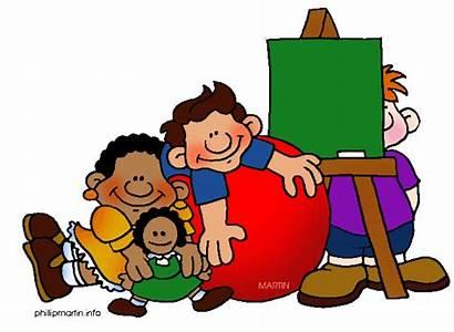 Preschool Clip Clipart Centers Kindergarten Activities Clipartix