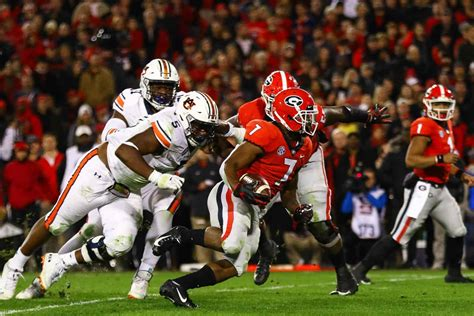 uga football games tennessee auburn flip beginning