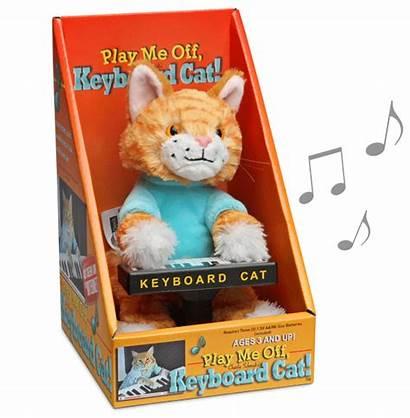 Cat Keyboard Plush Animatronic Toy Meme Toys