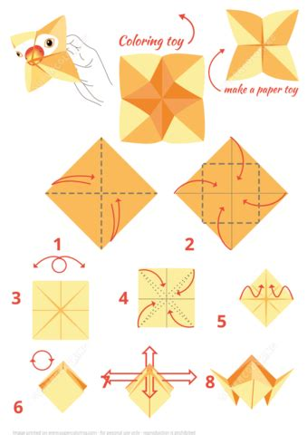 origami parrot instructions  printable papercraft