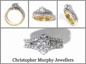 double wedding ring 186 christopher murphy jewellers With double wedding rings