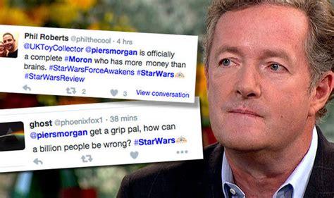 Piers Morgan Slammed By Star Wars Fans After Calling Movie