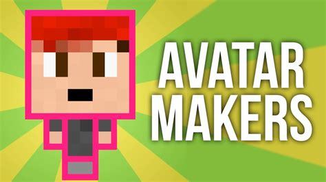 easy minecraft avatar maker youtube