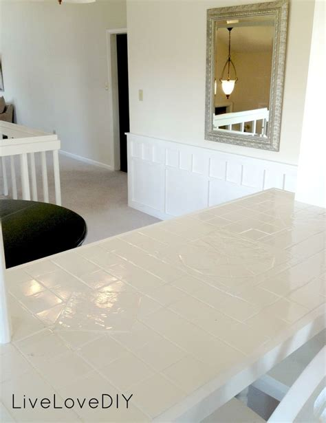 how to paint ceramic tile countertops best 25 painting tile countertops ideas on