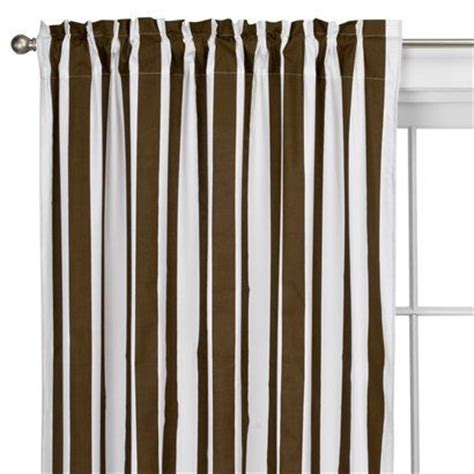 brown striped curtain panels the world s catalog of ideas