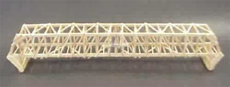 balsa wood bridge design blueprints plans diy