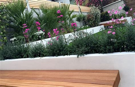 plants for garden beds london artificial grass planting raised beds clapham wandsworth balham london garden design