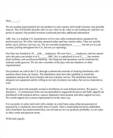 sales introduction letter brittney taylor