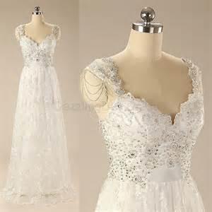 column wedding dress ivory luxury sleeveless lace applique chapel wedding dress gown sheath column bridal