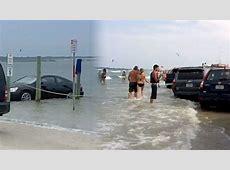 Florida Beachgoers Lose 100+ Cars to High Tide YouTube
