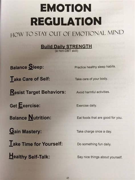 Emotion Regulation= Strength  Ideas Pinterest