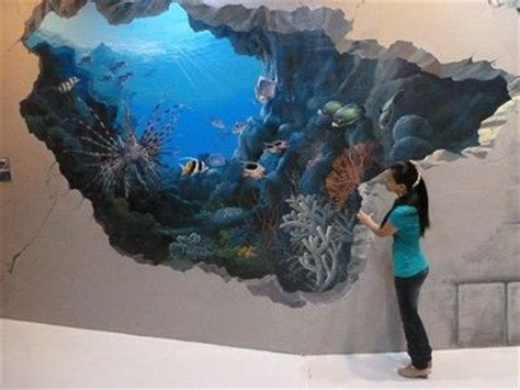 shark optical illusions stanleys pictures  art