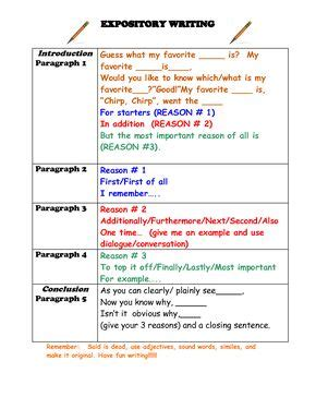 conclusion paragraph format elementary students google