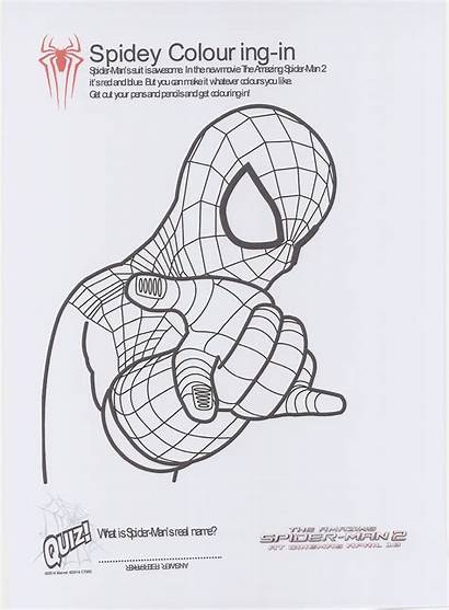 Amazing Spider Printable Spiderman Colouring