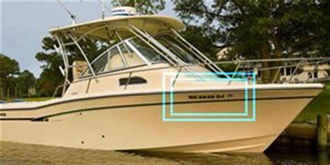 Boat Registration Numbers Ny by Boat Documentation Requirements Boatus Graphics