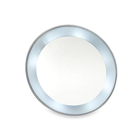 magnifying mirror 15x lighted 15x magnifying led lighted mirror with suction cups www