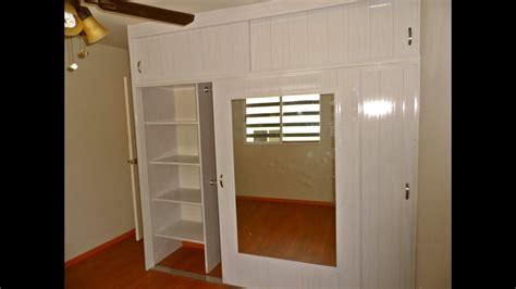 closet de pvc corredizo reforzado  pared falsa de pvc