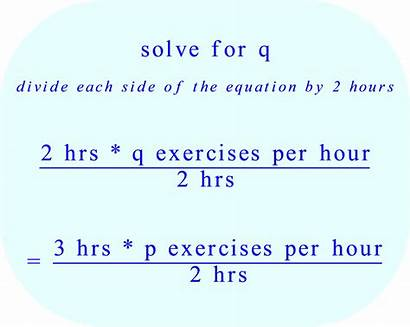 Hours Exercises Science Equation Helen Solve Math