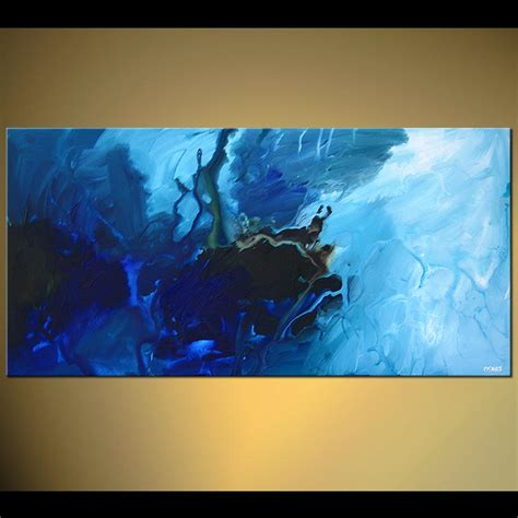 modern blue painting blue abstract paintings www imgkid the image kid has it