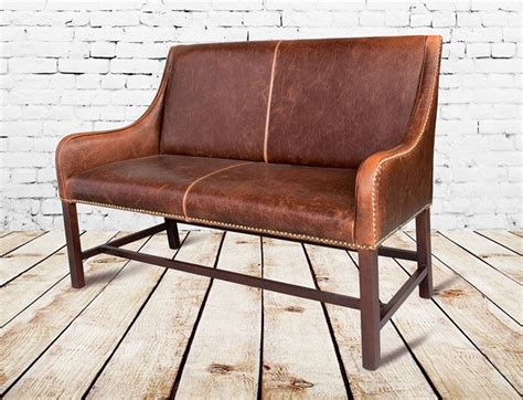 Leather Settee Bench by The 25 Best Settee Dining Ideas On Formal