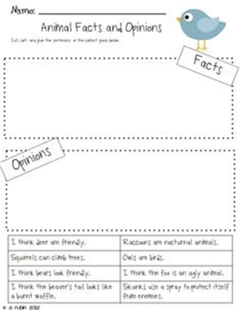 fact or opinion cut and paste short reading passage shorts worksheets and graphics