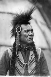 Native American Cayuse Tribe