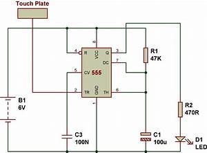 Mode Of Ne555- Monostable