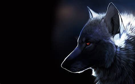 Digital Wolf Wallpaper by Wolf Wallpaper 6159