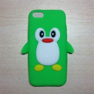 Cute 3D Penguin Silicone Case Cover Shell for Apple iPhone ...
