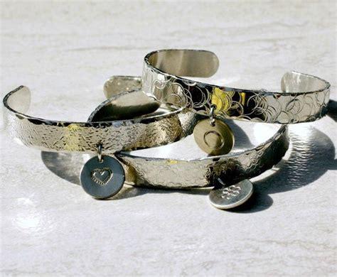 Metal Stamped Spoon Bracelet