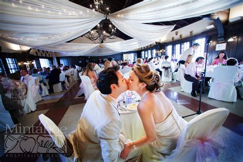 ceiling draping and chair covers minnesota boat club on