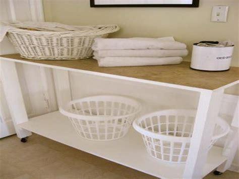 laundry folding table ideas photos of the laundry room table jen joes design