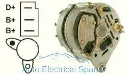 111355 Alternator 65a Replaces Lucas Lra461 A127