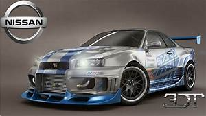 Nissan Skyline Fast And Furious : 3d tuning nissan skyline gt r the fast and the furious pauls walker car youtube ~ Medecine-chirurgie-esthetiques.com Avis de Voitures