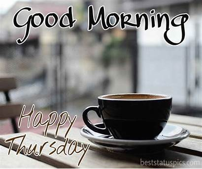 Thursday Morning Happy Quotes Coffee Wishes Cup