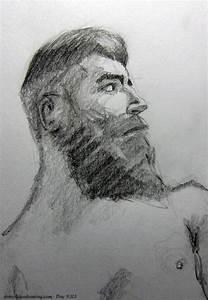 Beard Man Drawing