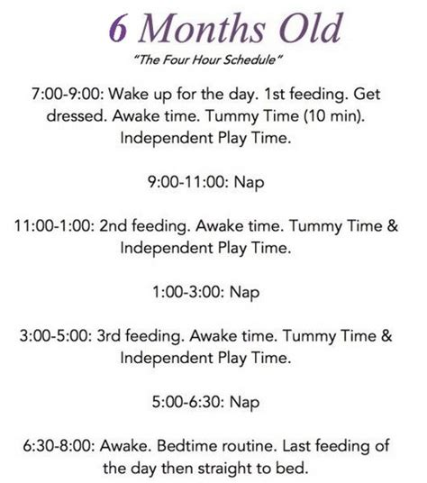 month  baby feeding schedule     feed   month  baby schedule