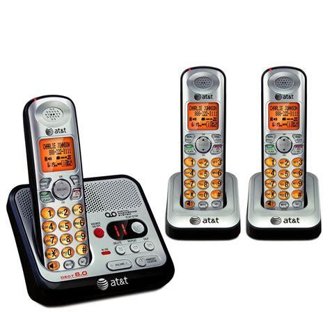 phone set 3 handset cordless phone set answering machine telephone