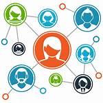 Relationship Customer Management Crm Network System Arrow