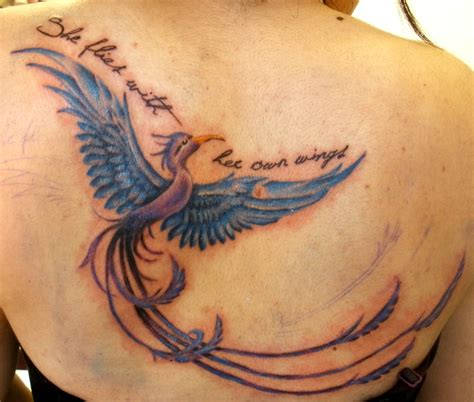 45 Beautiful Phoenix Tattoos For Women  Tattoo Collections