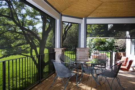 exterior patio sun screens  roller shades    window coverings
