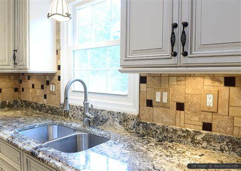 travertine kitchen backsplash travertine tile backsplash photos ideas