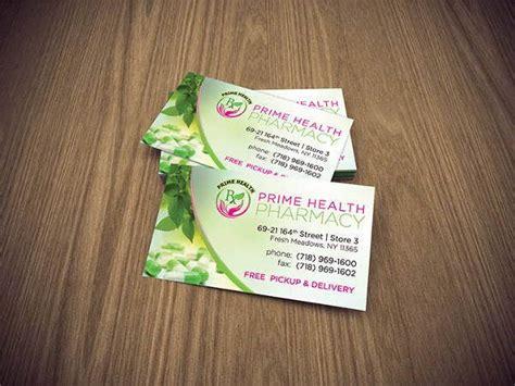 pharmacy business card templates psd ai word