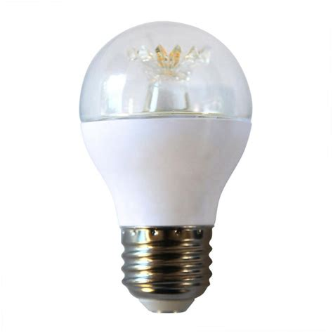 ecosmart light bulbs ecosmart 60w equivalent daylight a15 dimmable clear led