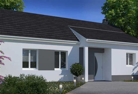 modele maison plain pied 3 chambres plan maison individuelle 3 chambres 08 habitat concept