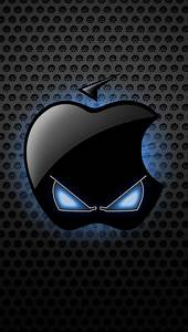 Iphone Wallpaper Apple Black - impremedia.net