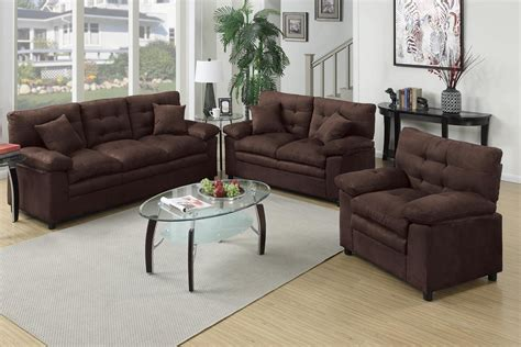 Brown Sofa And Loveseat Sets by Brown Leather Sofa Loveseat And Chair Set A Sofa