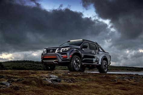 nissan navara dark sky concept     world