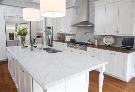 mobile kitchen island butcher quartz countertops vs quartzite countertops what s the