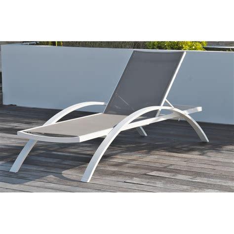 chaise blanc awesome salon de jardin metal gris pictures amazing